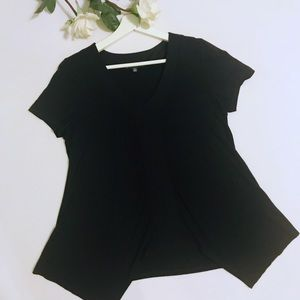 Adrianna Papell Short Sleeve Tunic Medium